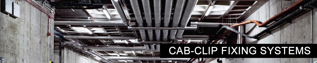 Cab-clips mechanicals cable fixing system