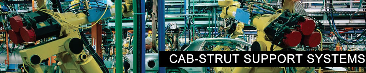 Cab-strut Support Systems