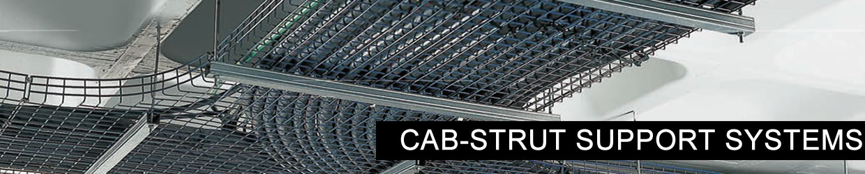 Cab-strut cabl ladders and trays