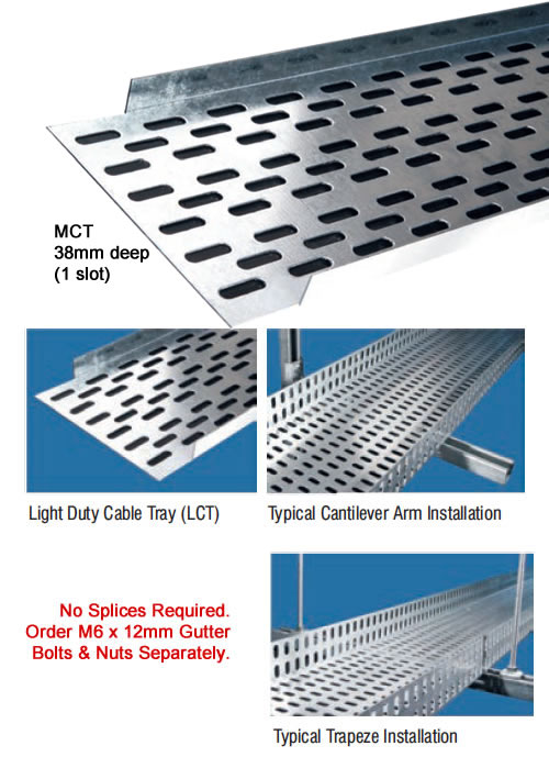 Perforated Metal Cable Tray - MCT