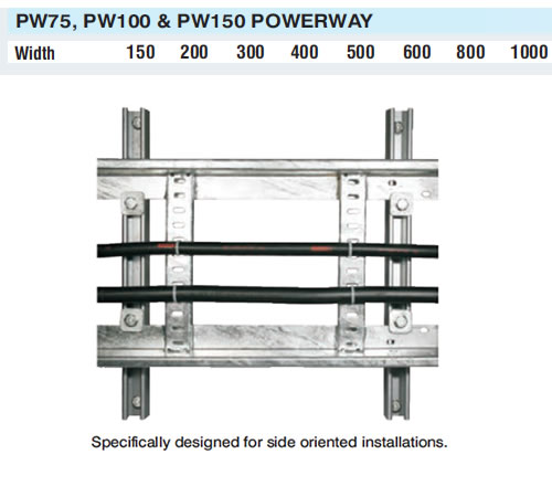 Powerway Cable Ladder, Powerway PW 75/100/150